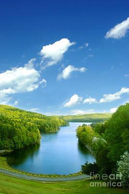 Lake Macdonough Poster