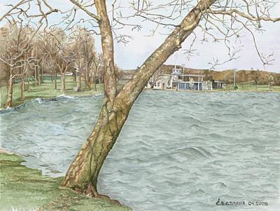 Lake Maxinkuckee Shoreline Poster