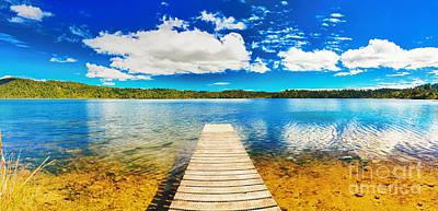 Lake Panorama Poster