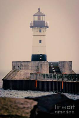 Lake Superior Lighthouse Poster