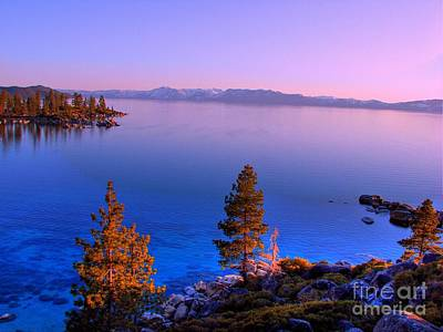 Lake Tahoe Serenity Poster by Scott McGuire