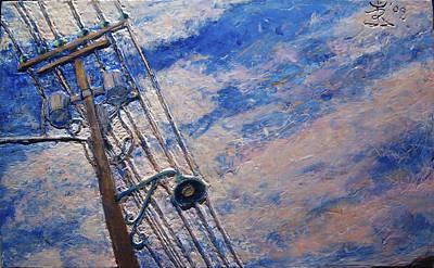 Lamp Post Lachine Canal Poster by Jonathan E Raddatz