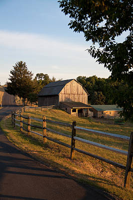 Lancaster County Farm Poster