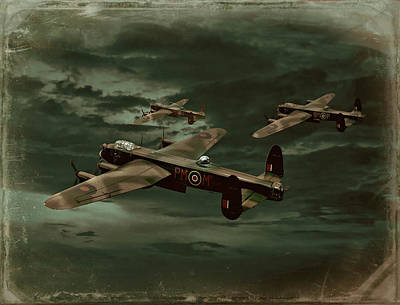 Lancaster Mission Poster by Steven Agius
