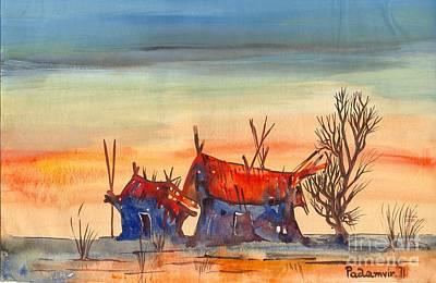 Landscape 5 Poster by Padamvir Singh