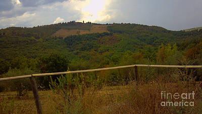Landscape Greve In Chianti Poster