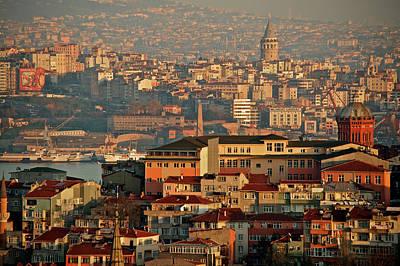 Landscape, Istanbul Poster by Photo by Bernardo Ricci Armani