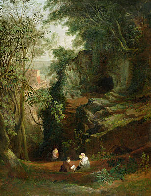 Landscape Near Clifton Poster