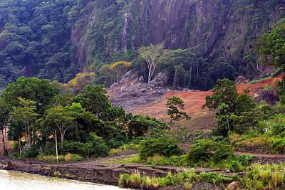 Landscape On The Culebra Cut Poster