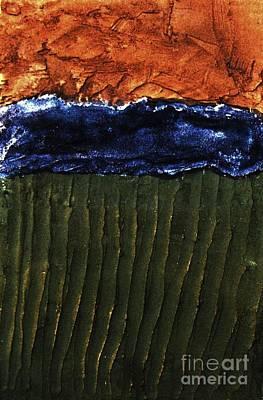 Landscape Textures Poster