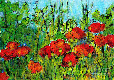 Languedoc Poppies 4 Poster