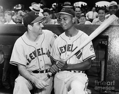 Larry Doby (1923-2003) Poster by Granger