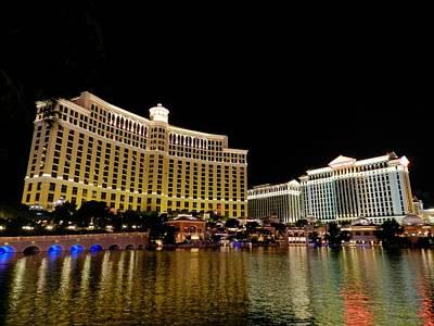 Las Vegas 007 Poster by Lance Vaughn