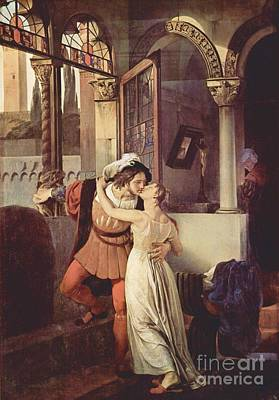 Last Kiss Of Romeo And Juliet Poster by Pg Reproductions