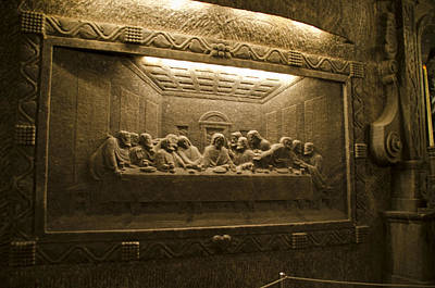 Last Supper - Wieliczka Salt Mine Poster by Jon Berghoff