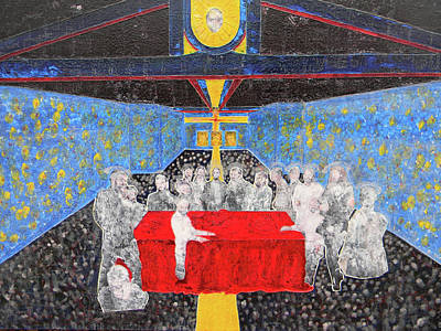 Last Supper The Reunion Poster by Marwan George Khoury