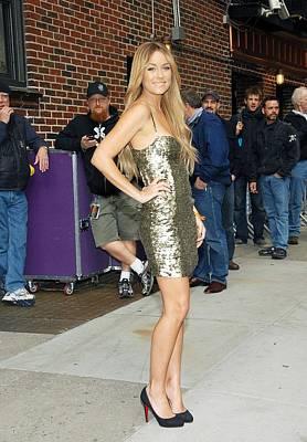 Lauren Conrad Wearing A Kate Moss Poster