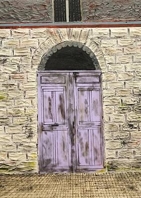 Lavender Door-france Poster