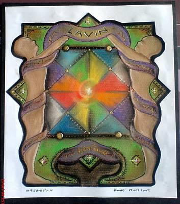 Lavin Family Crest Poster