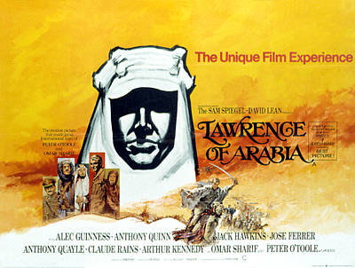 Lawrence Of Arabia, 1962 Poster by Everett