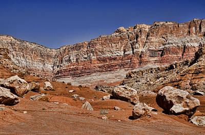 Layered Cliffs Poster by Jon Berghoff