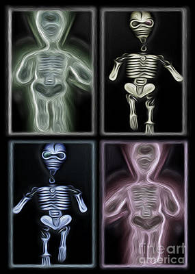 Lazy Bones Poster by Gregory Dyer