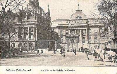 Le Palais De Justice Poster by Georgia Fowler