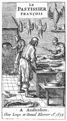 Le Pastissier Fran�ois Poster
