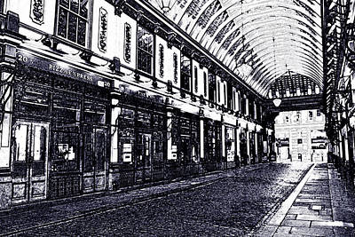 Leadenhall Market Poster
