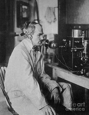Lee De Forest, American Inventor Poster