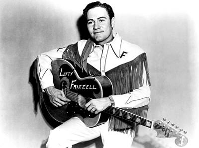 Lefty Frizzell, 1950s Poster by Everett