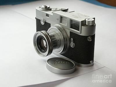 Leica M3 A010 Poster by Larry Matthews