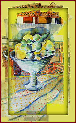 Lemons Ala Cart Poster