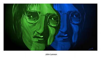 Lennon Poster by Mark Moore