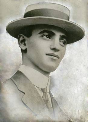Leo Frank 1884-1915, Was Tried Poster by Everett