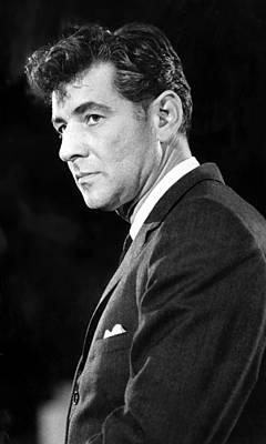 Leonard Bernstein 1918-1990 American Poster