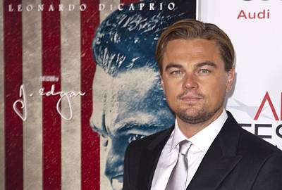 Leonardo Dicaprio At Arrivals For Afi Poster