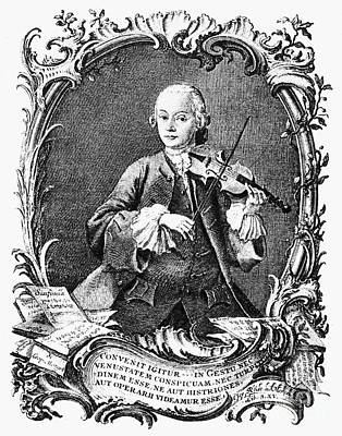 Leopold Mozart (1719-1787) Poster