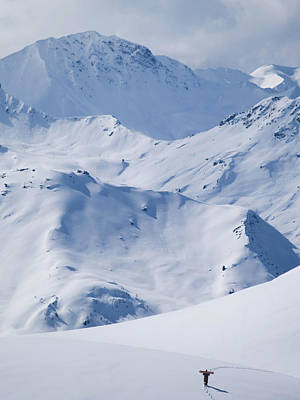 Les Arcs, France Poster by Axiom Photographic