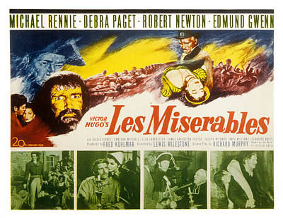Les Miserables, Michael Rennie, Debra Poster by Everett