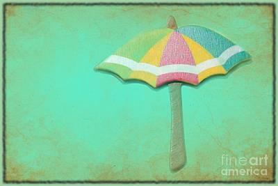 Let It Rain 1 Poster by Sophie Vigneault