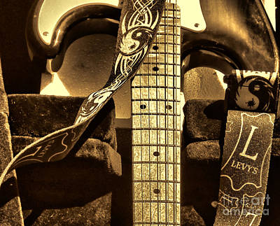 Levys Guitar I Poster