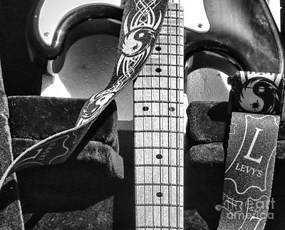 Levys Guitar IIi Bw Poster
