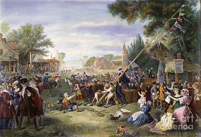 Liberty Pole, 1776 Poster by Granger