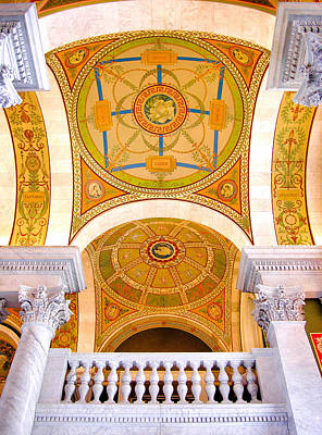 Library Of Congress IIi Poster