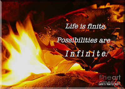 Life Is Finite Poster