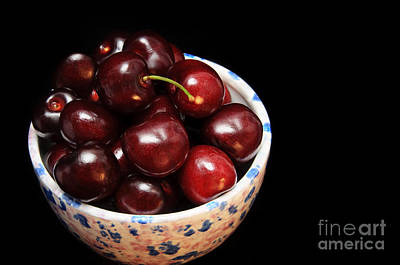 Life Is Like A Bowl Of Cherries  Poster by Andee Design