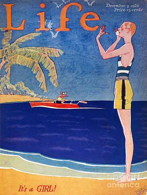 Life: Its A Girl, 1926 Poster by Granger