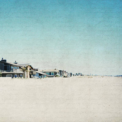 Poster featuring the photograph Letters From The Beach House - Square by Lisa Parrish
