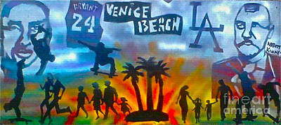 Life's A Beach Poster by Tony B Conscious